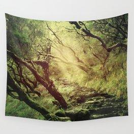 through darkness & light Wall Tapestry