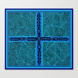 Inca Warrior Arrows Canvas Print