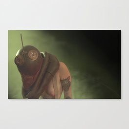 The Tiller #2 Canvas Print