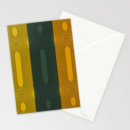 Fall Twist Abstract Stationery Cards