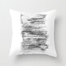 Texture#21 Dry brush Throw Pillow