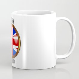 British Proud Flag Button Coffee Mug