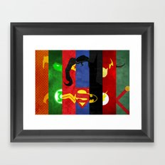 League Framed Art Print
