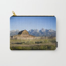 Mormon Row Grand Tetons Carry-All Pouch