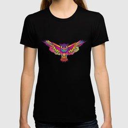 Owl | Geometric Colorful Low Poly Animal Set T-shirt