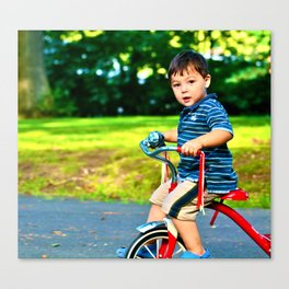 Classic bike  Canvas Print