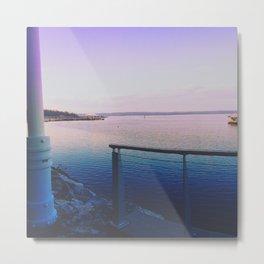Purple Harbor  Metal Print