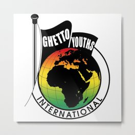 Ghetto Youths International (Marley Brothers) Metal Print