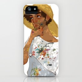 summer paintings  iPhone Case