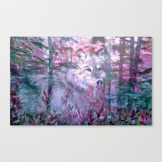 Forest Ghost Canvas Print