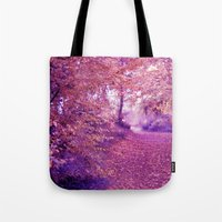 wander Tote Bags featuring wander by Luiza Lazar
