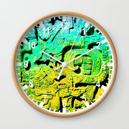 forgotten Colors collection Wall Clock