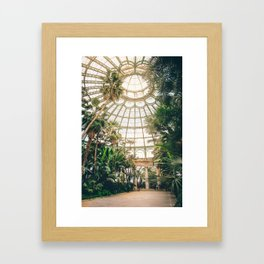 Royal Greenhouses II Framed Art Print
