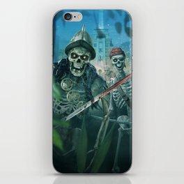 Zombie Pirates iPhone Skin