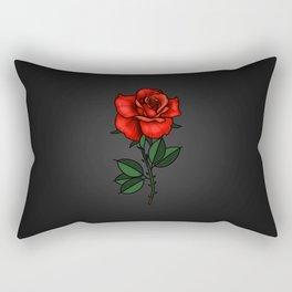 Floating Rose  Rectangular Pillow