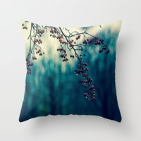returns Throw Pillows featuring Diminishing Returns by Faded  Photos