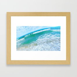 In the middle of the day Framed Art Print