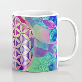 Flower Of Life (Midst Of Abstraction) Coffee Mug