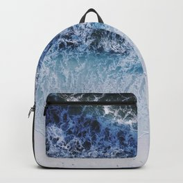 waiting for the tide Backpack