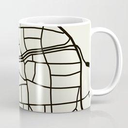 Wismar Karte Coffee Mug