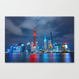Shangai, China Canvas Print