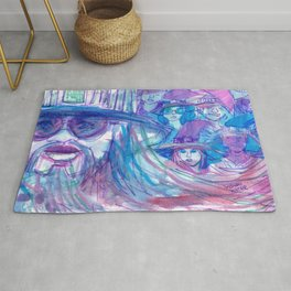queer mages Rug