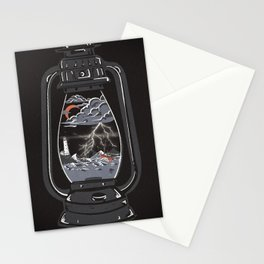 Storm Lantern... Stationery Cards