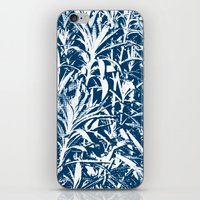 plant iPhone & iPod Skins featuring Plant by H. Burak Yel