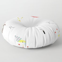 circus Floor Pillow