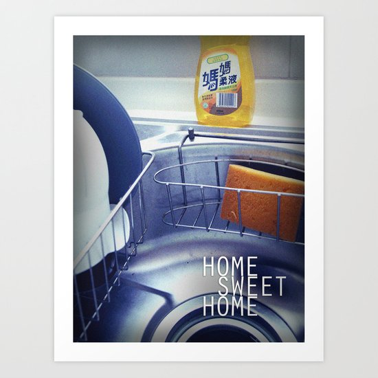 HOME SWEET HOME SERIES - Sink Art Print