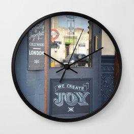 Doorway to Joy Wall Clock