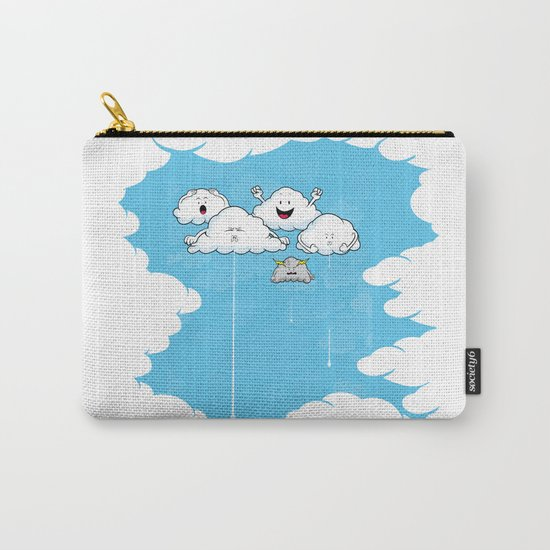 Young Clouds fooling around Carry-All Pouch
