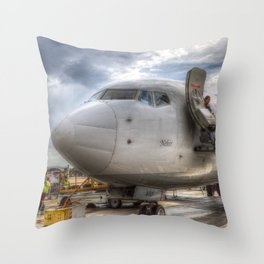 Pegasus Boeing 737 Throw Pillow