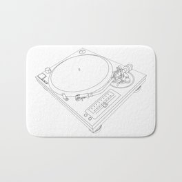 Technics Turn Table Bath Mat