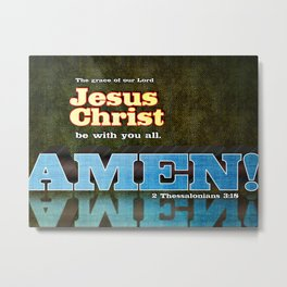Amen! Metal Print