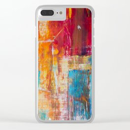 Frenetic Passion Clear iPhone Case