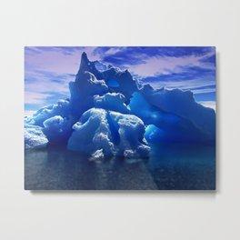 Arctic Ice Metal Print