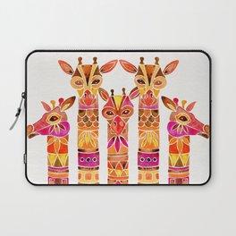 Giraffes – Fiery Palette Laptop Sleeve