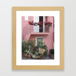 A Day in the Life - Capri, Italy Framed Art Print