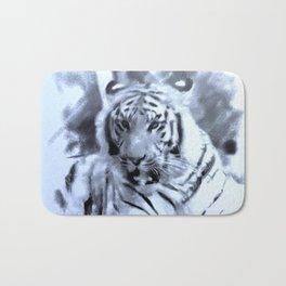 Animals and Art - Tiger Bath Mat