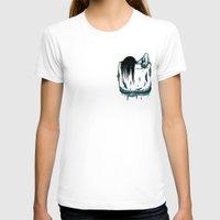 pocket T-shirts featuring Pocket Samara by Mike Handy Art