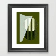 Partition Framed Art Print