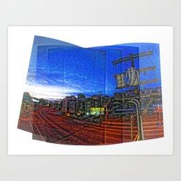 """Top of the Park"" Art Print"
