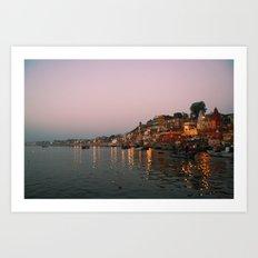 Wake up, Benares Art Print