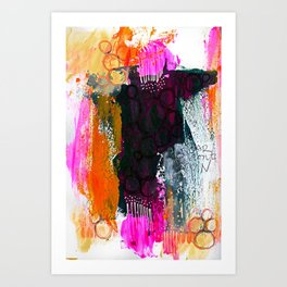 Soar Don't Spin Art Print
