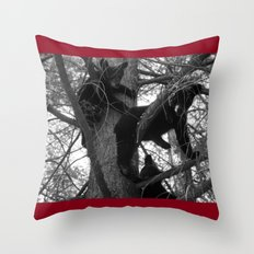 Berry Beary Throw Pillow