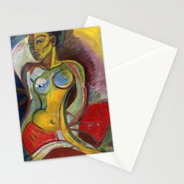 Seated Nude Stationery Cards