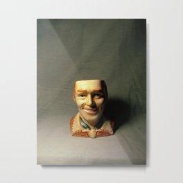 Salt Shaker Lobotomy Man Metal Print