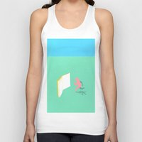 literature Tank Tops featuring Exit Literature  by Dedo Mau