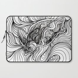 Diving to the depths Laptop Sleeve